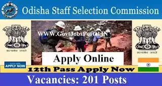 govt jobs in odisha