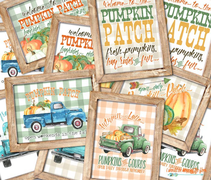 Pumpkin Patch Printables