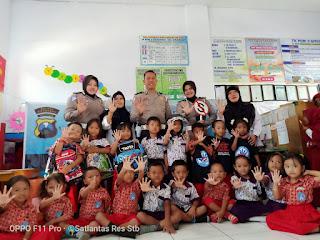 Polres Situbondo Galakkan Program Polisi Sahabat Anak.