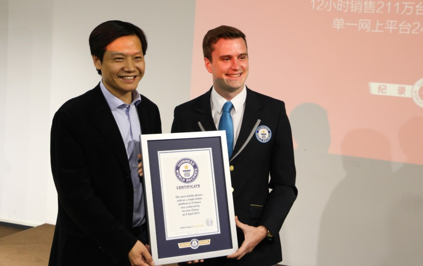 Xiaomi detiene un Guinness World Record