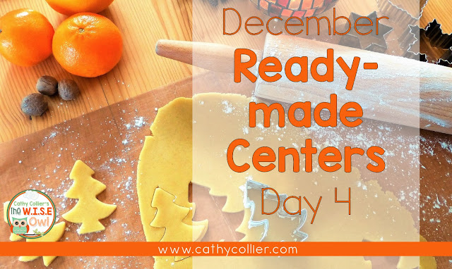 December Ready-made centers. Day 4: Sorting  Mats.