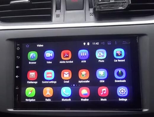 Latest Pumpkin Android Car Stereo Review Customer Review For Pumpkin 11 Rq0259e Universal 7 Inch Hd 1024 600 Touchscreen Android 4 4 Quad Core Dab Car Stereo