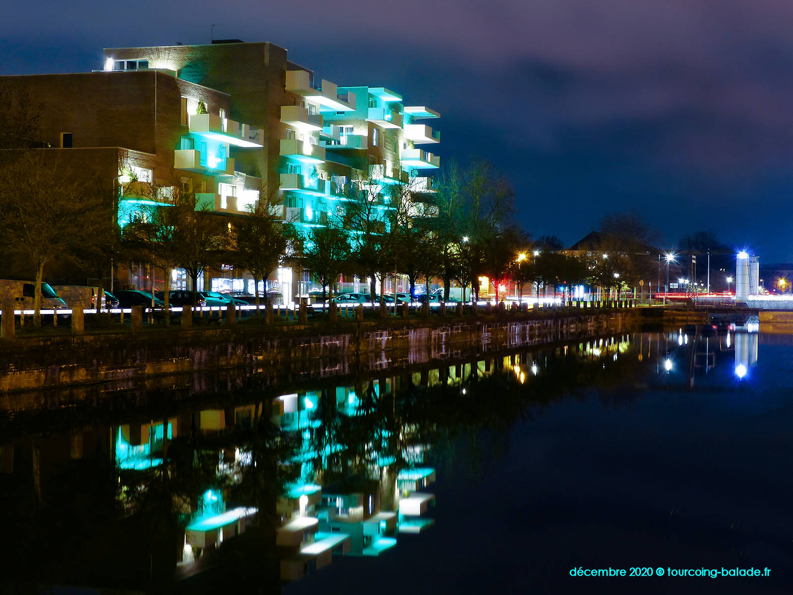 Résidence Equinox, Canal de Tourcoing, 2020