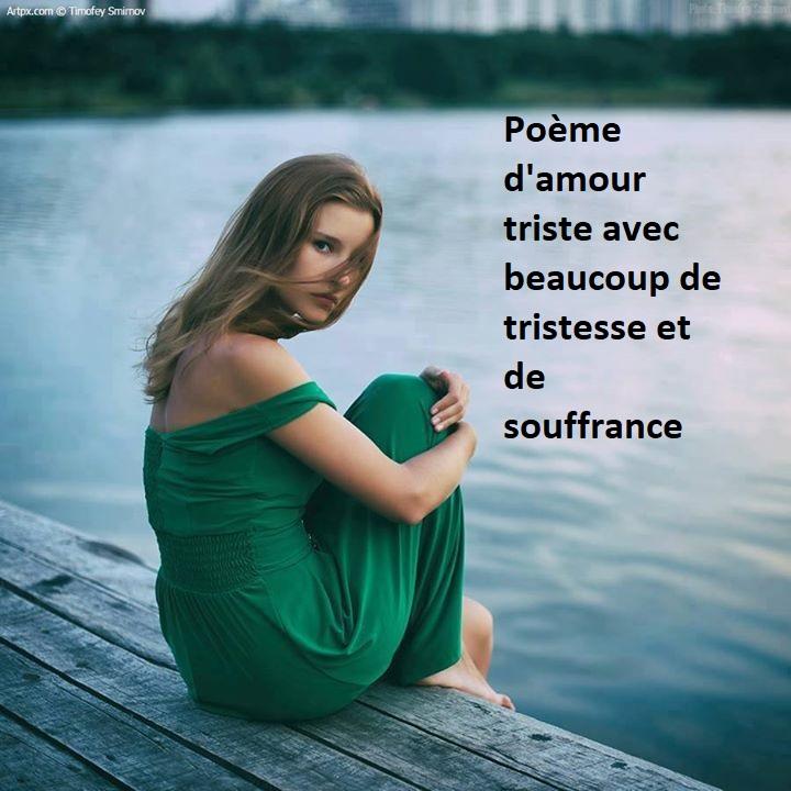 Poeme D Amour Triste Plain De Tristesse Et De Souffrance