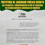Prefeitura de Jaguarari publica decreto que estabelece a obrigatoriedade do uso de mascaras em estabelecimentos comerciais do município