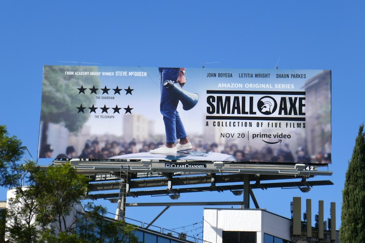 Small Axe collection five films billboard