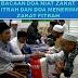 Lafadz Niat Bacaan Doa Zakat Fitrah dan Do'a Menerima Zakat Lengkap Arab Latin