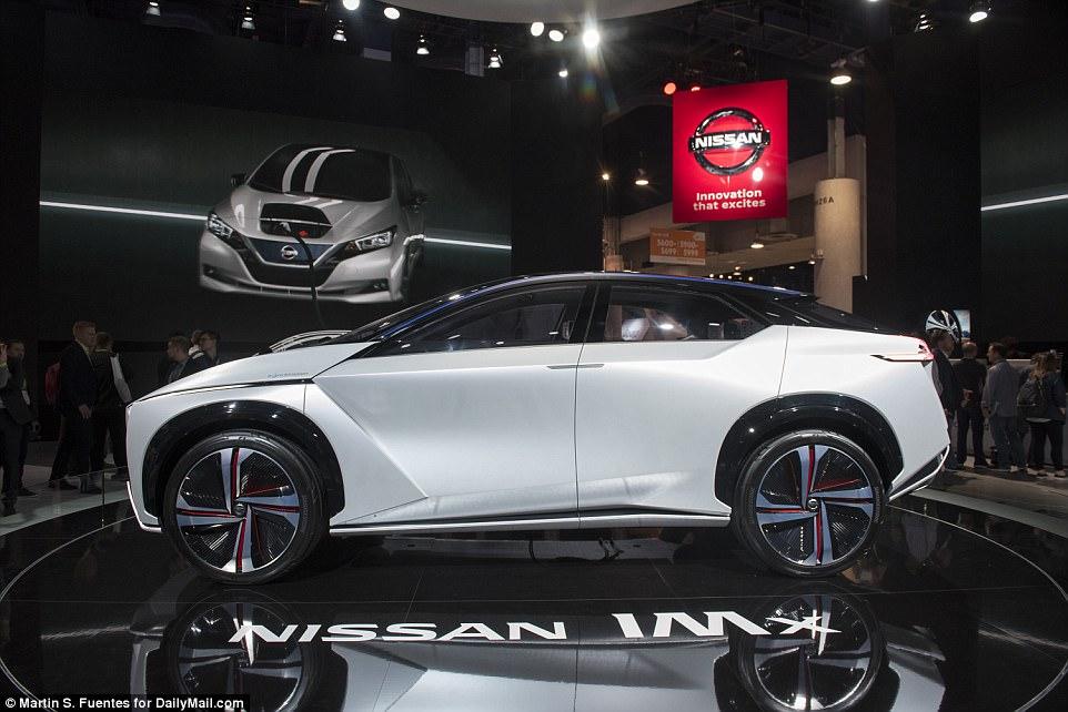 O conceito do veículo da IMx, da Nissan, visa tornar a condução mais segura e agradável e apresenta uma versão futura da operação autônoma ProPILOT da empresa