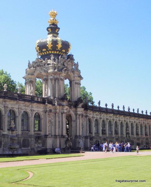 O palácio Zwinger, Dresden