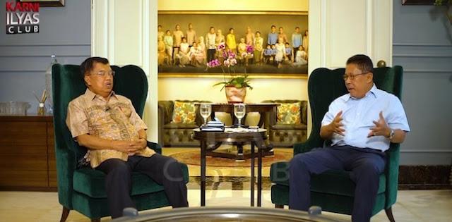 Kata JK, Jokowi Pernah Minta Dirinya Jadi Wapres Lagi