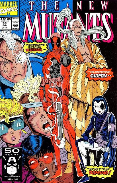 Primera aparición de Deadpool de Rob Liefeld