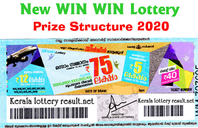 Win Win Lottery Prize Structure 2020