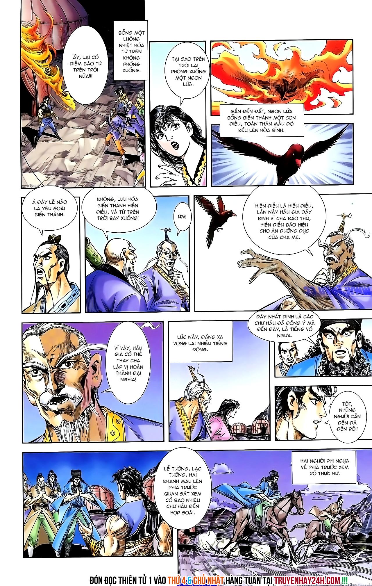 Cơ Phát Khai Chu Bản chapter 156 trang 28