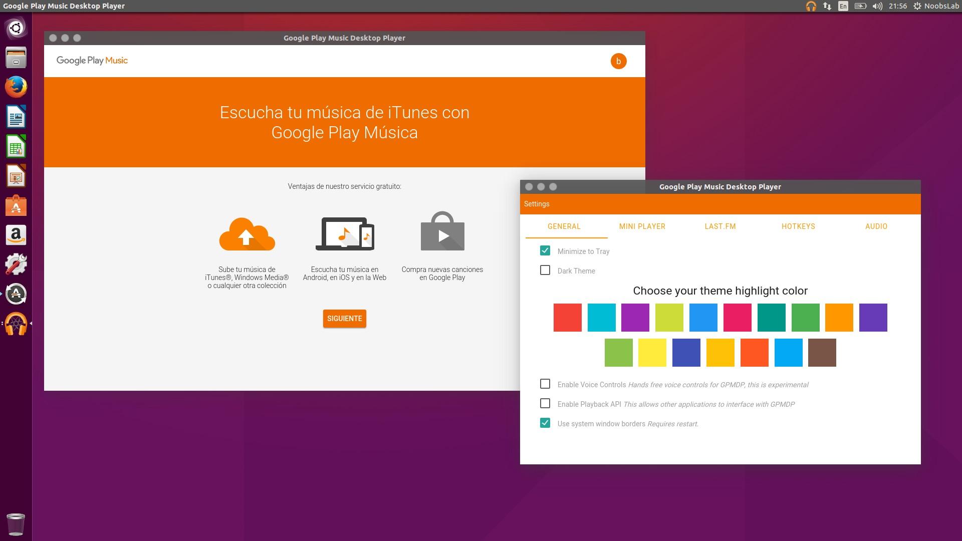 Google theme ubuntu - If