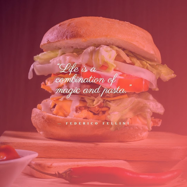 Short quotes on food