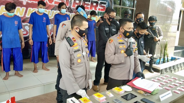 Pengedar Narkoba Jaringan Malaysia Karawang di Tangkap