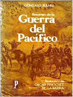Libro N° 6190. Resumen De La Guerra Del Pacifico. Bulnes, Gonzalo Y Pinochet, Oscar.