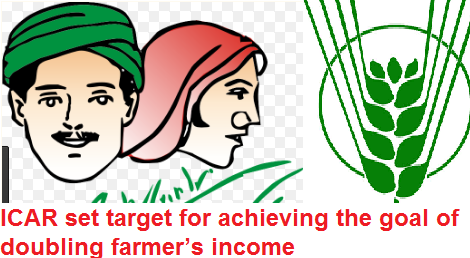 icar-set-target-for-dobuling-farmers-income-paramnews