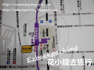 高鐵桃園站到桃園機場地圖