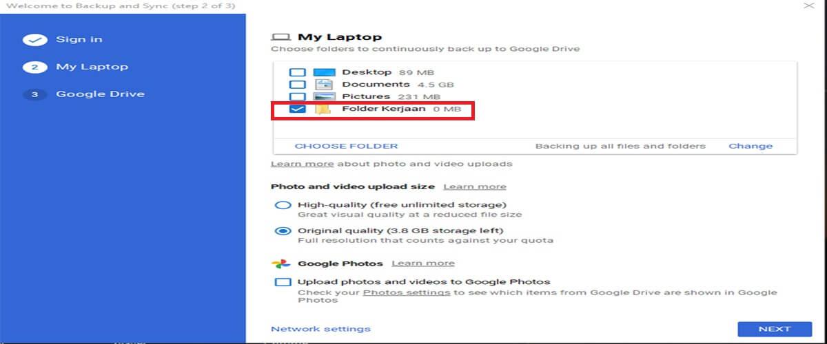 Cara Download Google Drive