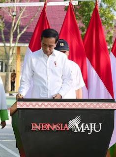 Presiden Jokowi Resmikan Rehabilitasi dan Renovasi Madrasah di Pekanbaru, Riau