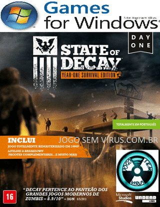 Capa do jogo State of Decay: Day One (YOSE) PC Gamer PT-BR