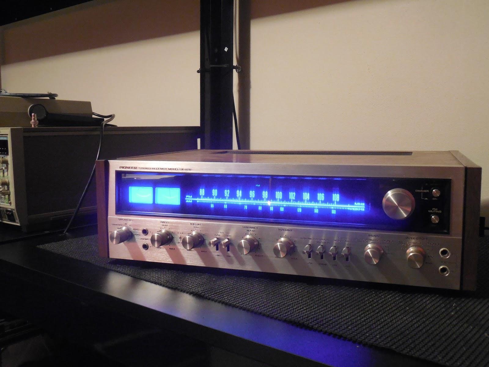 vintage hi fi audio restorations pioneer sx 828 receiver. Black Bedroom Furniture Sets. Home Design Ideas