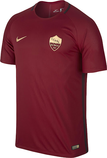 AS Roma 201617 Nike Special Edition Derby Home Kit