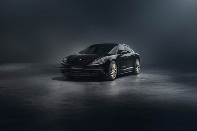 Porsche Panamera 10th Anniversary Editions Revealed ...