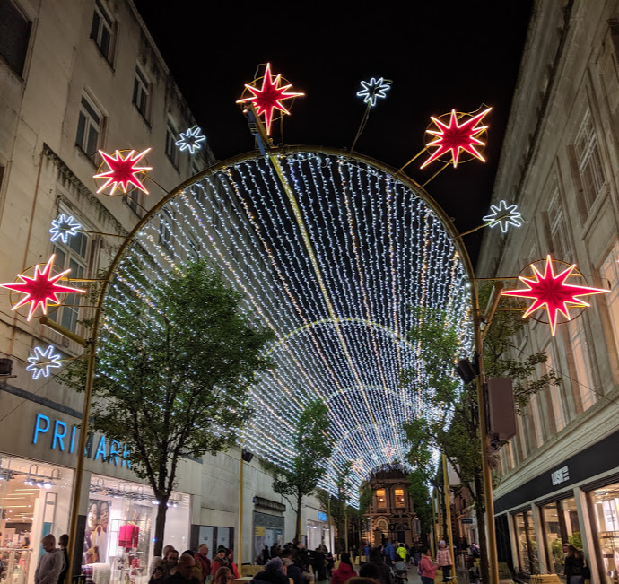 10 Reasons to Visit Liverpool in December - Liverpool Light Spectactular