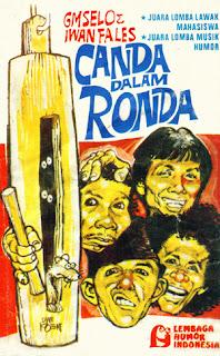 Iwan Fals - Canda Dalam Nada Cover Album (1978)