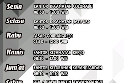 Jadwal Samsat Keliling Karanganyar Juli 2019