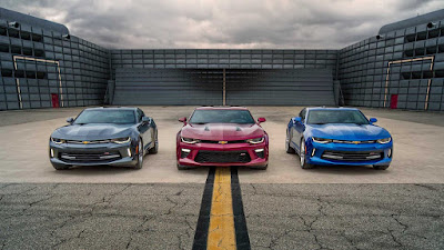 The Chevrolet Camaro Through The Years