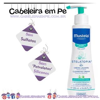 Creme Lavante Stelatopia Mustela (Sem Sulfatos, Sem Petrolatos e Sem Silicones)