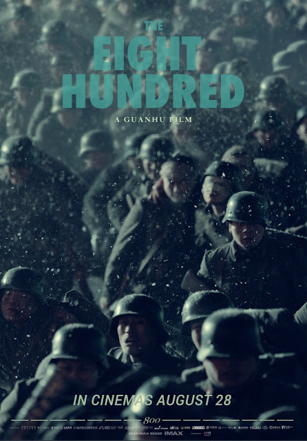 China's First Blockbuster Of The Year, The Eight Hundred, Opens Friday At Select Theaters In The U.S. And Canada