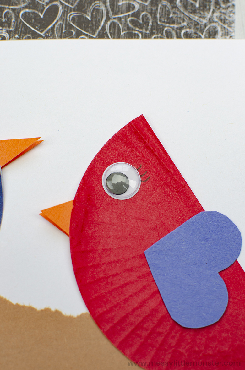 bird craft for preschoolers