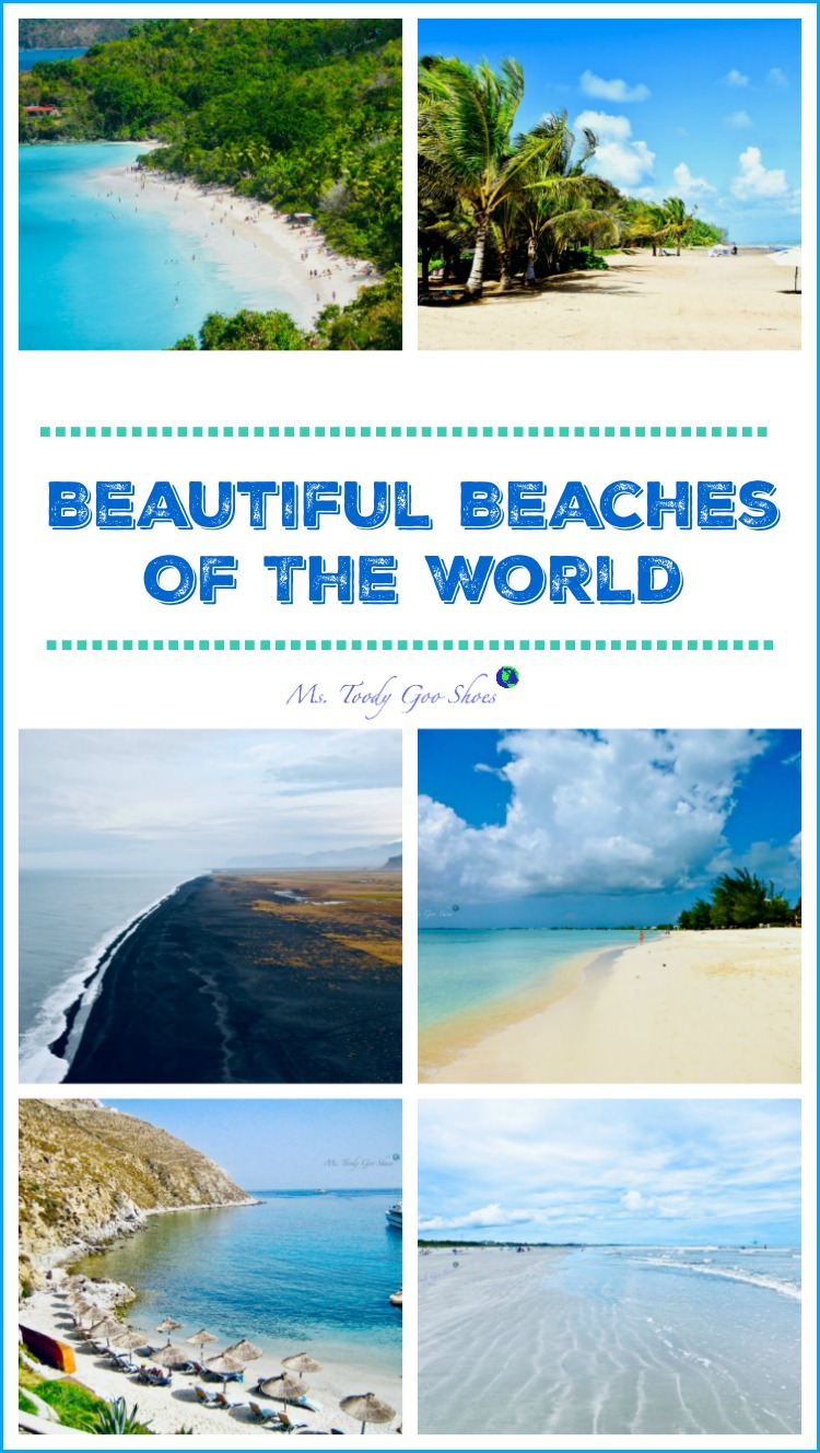 How many of these beautiful beaches around the world have you been to? | Ms. Toody Goo Shoes