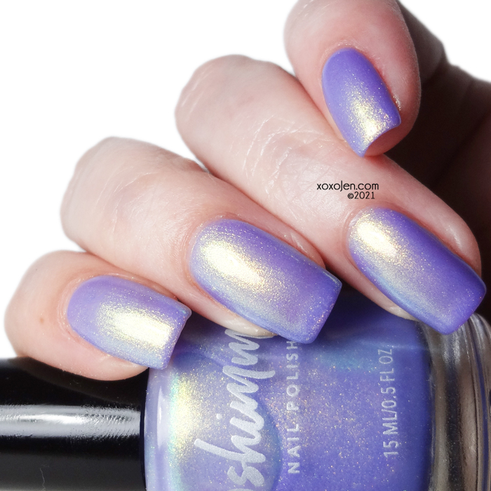 xoxoJen's swatch of KBShimmer I Just Wanna Fly