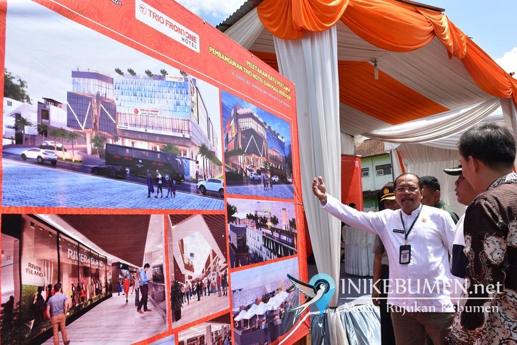 Trio Front One Hotel dan Trio Mall Kebumen Mulai Dibangun