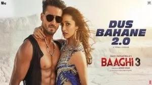 Dus Bahane 2.0 Lyrics Baaghi 3 | vishal dadlani
