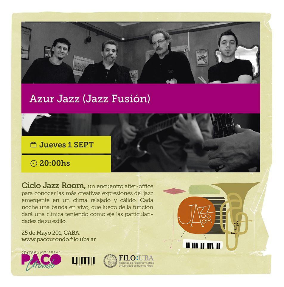 Jazz Room, un encuentro after office en el Paco Urondo
