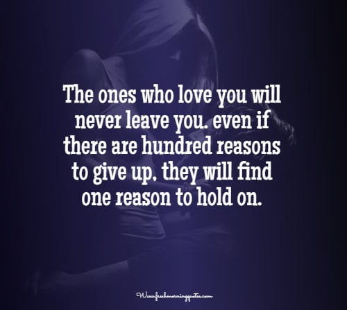 the one who love you