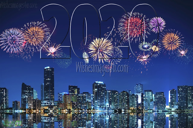 Happy New Year 2020 HD Fireworks Photos Wishes Download Free
