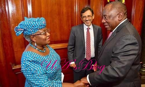 S'Africa Appoints Okonjo-Iweala as Economic Advisory Council Member
