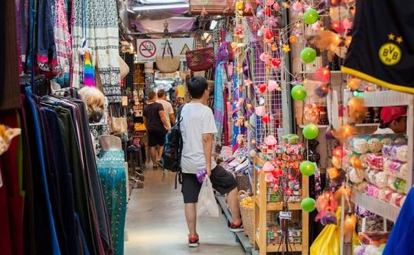 Mua sắm quần áo, giày dép Thái Lan