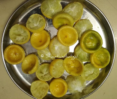 How-to-make-lemon-peel-thokku, Lemon-skin-thokku-recipe