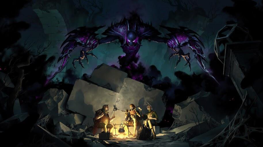 Nocturne, LoL, Shadow Isles, Legends of Runeterra, 4K, #5.2709