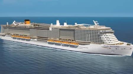 Suspeita de coronavírus isola 6 mil passageiros em navio de cruzeiro italiano