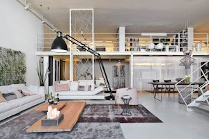 ▷ Cozy and pleasant, the keys to the rustic living room