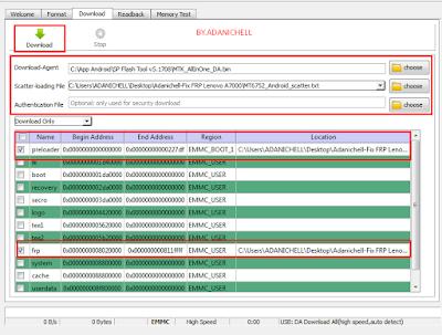 Bypass Frp Account Lenovo A7000